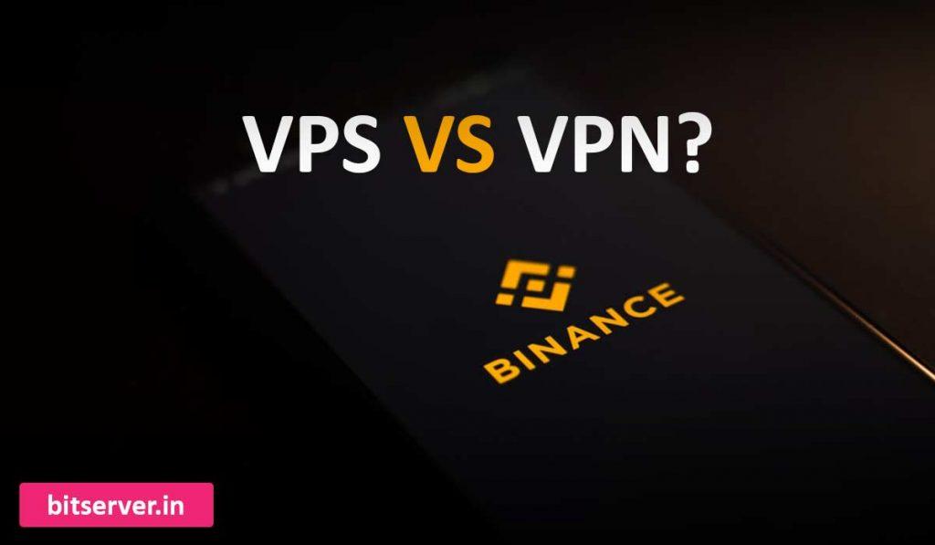 تفاوت vps و vpn برای بایننس